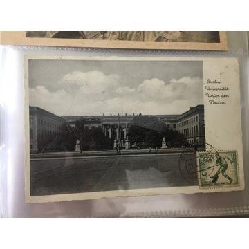 Stara pocztówka Berlin uniwersytet 1936 rok