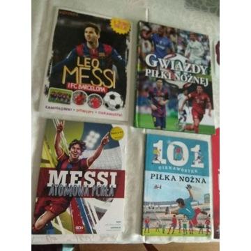 Leo Messi 2 książeczki ciekawostki gwiazdy piłki