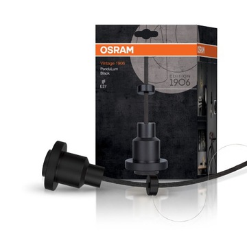 OSRAM PenduLum - zawiesie do LED VINTAGE E27 BLACK