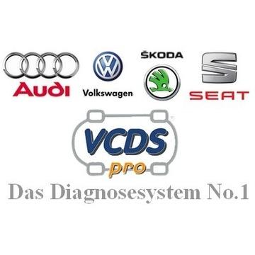 Zeszyt kodowań i adaptacji VCDS VAG + Gratis