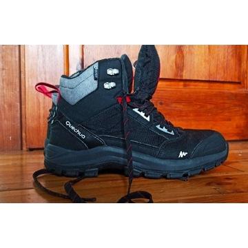 Buty zimowe wodoodporne, jak nówki, rozm. 42