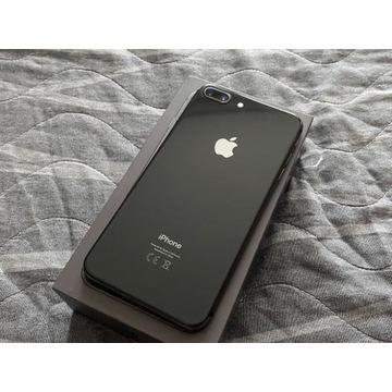 iPhone 8 PLUS 64 GB Space gray czarny bateria 95%