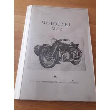 Motocykle M 72 instrukcja obsługi