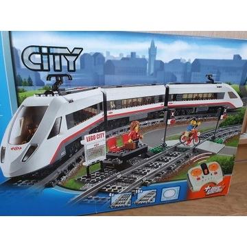 LEGO 60051 pociąg + zwrotnice LEGO 7895