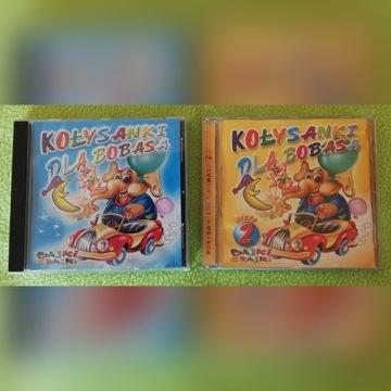 Kołysanki dla bobasa - płyty CD, 2 części