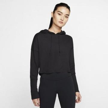 Nike Yoga Luxe XS bluza z kapturem krótszy krój