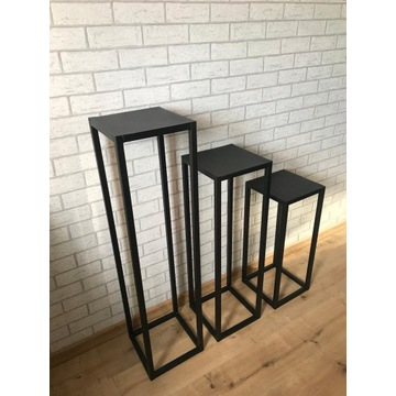 Kwietnik Loft Stojak Metalowy 60 cm Producent