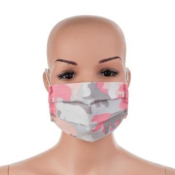 maska bawelniana z filtrami