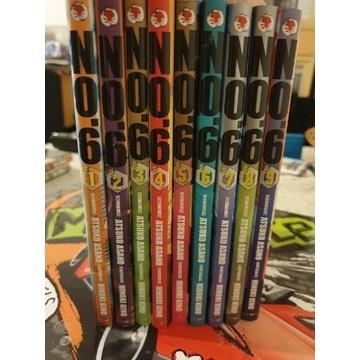 Manga No.6  tomy 1-9 komplet
