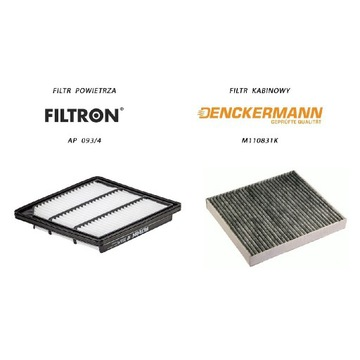 Filtr powietrza FILTRON AP 093/4 + kabina FREEMONT