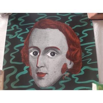 PLAKAT wydruk cyfrowy oryginalny  Chopin .