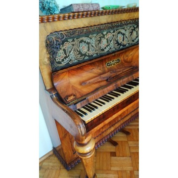 Przepiękne ponad 150 letnie pianino