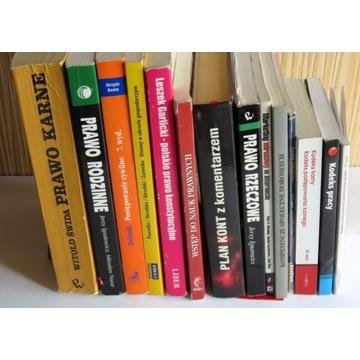 PRAWO I NAUKI POKREWNE DUŻY ZESTAW 14 Książek