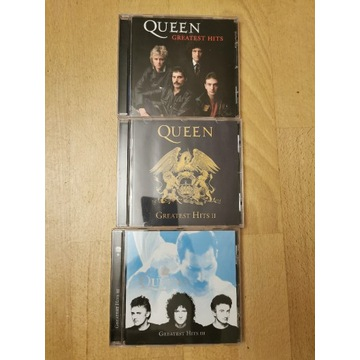 Queen greatest hits I, II, III zestaw CD