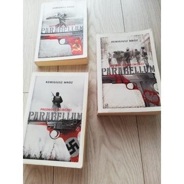 Parabellum Remigiusz Mróz 3 tomy