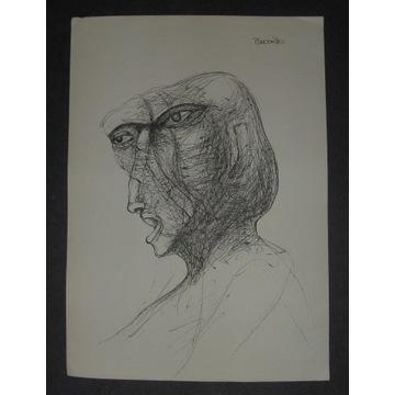 Zdzisław Beksiński abstrakcja