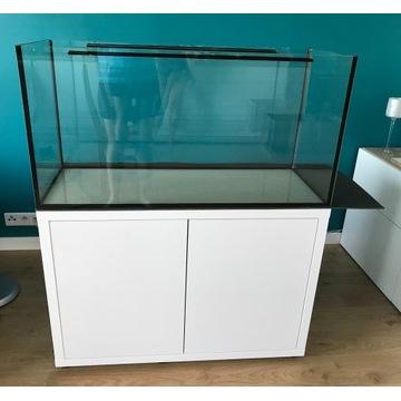 Akwarium 100x40x50 200L + szafka zestaw