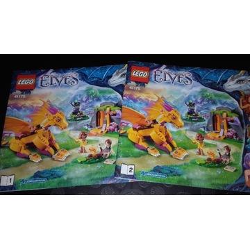 LEGO klocki  Elves Jaskinia Smoka Ognia 41175