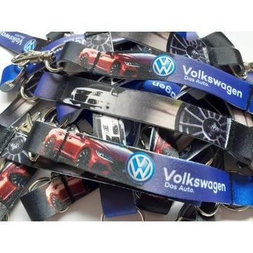 Krótka smycz do kluczy idealne dla fanów VW