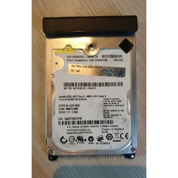 Dysk 120 GB z laptopa PATA ATA bolce
