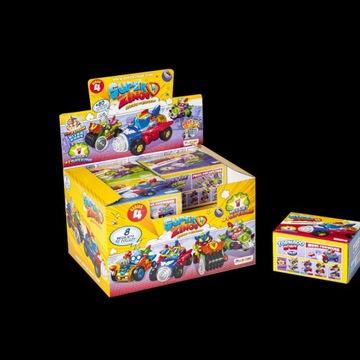 SUPER ZINGS MegaJets z serii 4. zestaw 4 szt różne