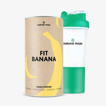 Zestaw Fit Banana plus szejker Natural Mojo