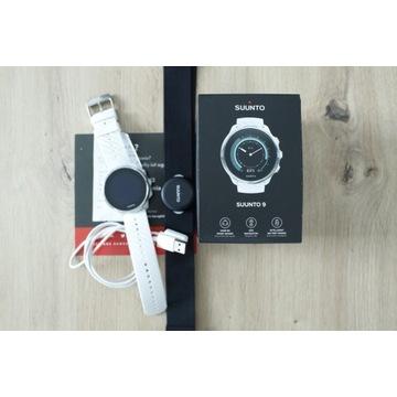 Zegarek Suunto 9 White Wrist HR GPS + PAS HR