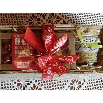 Konfitury plus czekolada  - upominek Dzień Matki