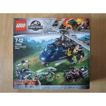 Lego Jurassic world 75928 Pościg za śmigłowcem