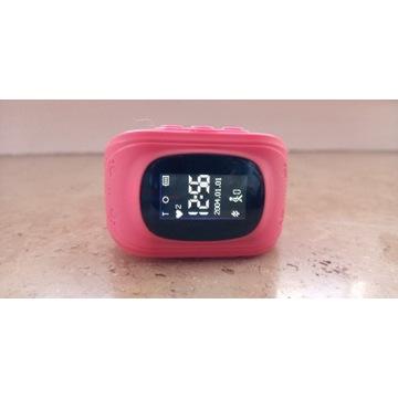 Smartwatch AW-K01 z lokalizatorem GPS Różowy