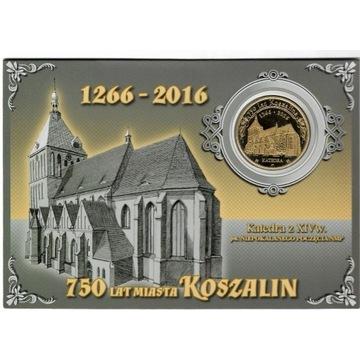 Złoty szeląg - Katedra - 750 lat Koszalina