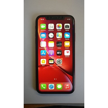 Iphone XR red 128 GB    DUAL SIM !