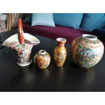 Chiński fajans, kmpl. 4 szt