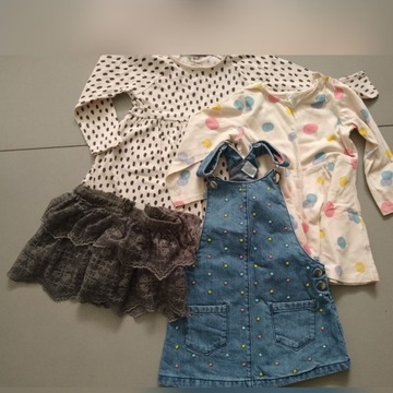 Ubrania dla dziewczynki 86/92 WYPRZEDAŻ
