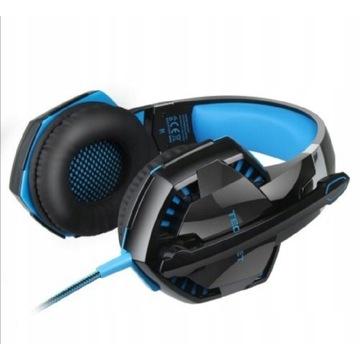 Słuchawki gamingowe PC headset gaming z mikrofonem