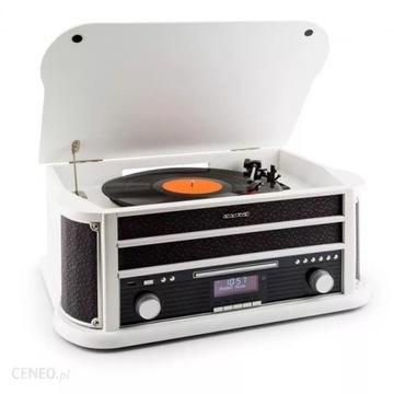 Gramofon Belle Epoque 1908 DAB Wieża stereo retro