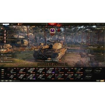 Konto World of Tanks 8X 13 premek w tym 4VIII