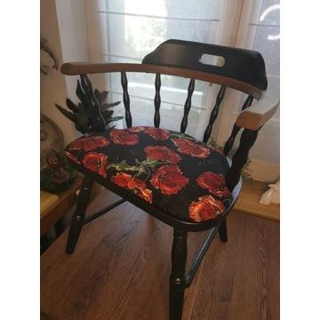 Odnowione krzesło, fotel prl, wysyłka, gięte