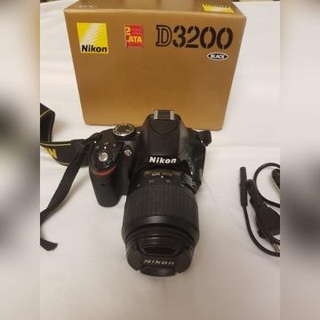 NIKON D3200+Obiektyw Nikkor 18-55