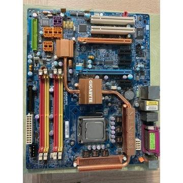 Gigabyte GA-965P-DS4, Core2Duo E6600+RAM - BCM