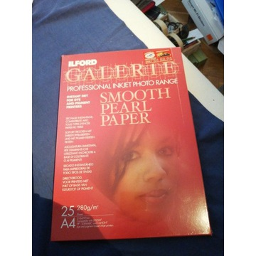 Ilford papier smooth pearl
