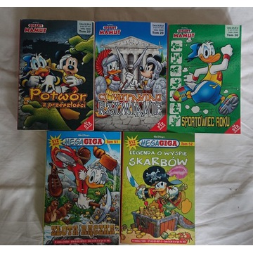 Mega Giga,Mamut zestaw komiksow