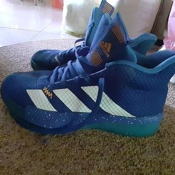 Buty adidas niebieskie stan bardzo dobry