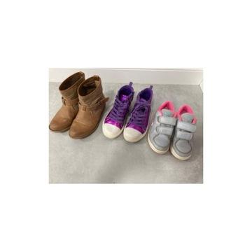 trzy pary butów na jesień/wiosnę 28-29