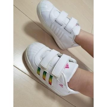 Buty sportowe dziewczęce Adidas