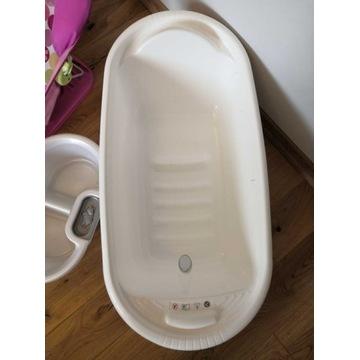 Wanienka + wkładka dla noworodka do wanny.