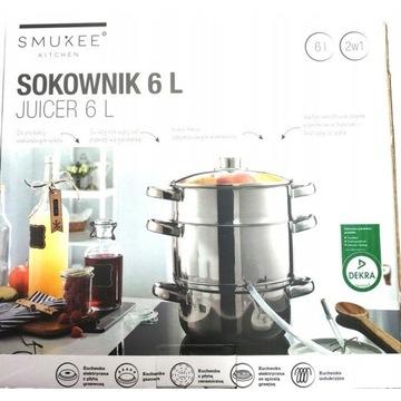 SMUKEE Sokownik garnek do soku gotowania na parze