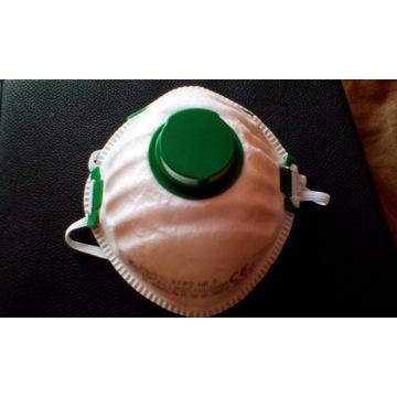 Maska antywirusowa antysmogowa 5 sztuk FFP2
