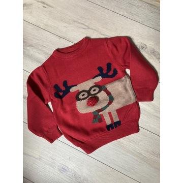 Next sweterek Świąteczny rozm 110