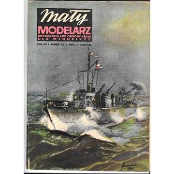 Mały Modelarz 2-3 1969 Ścigacz okrętów podwodnych